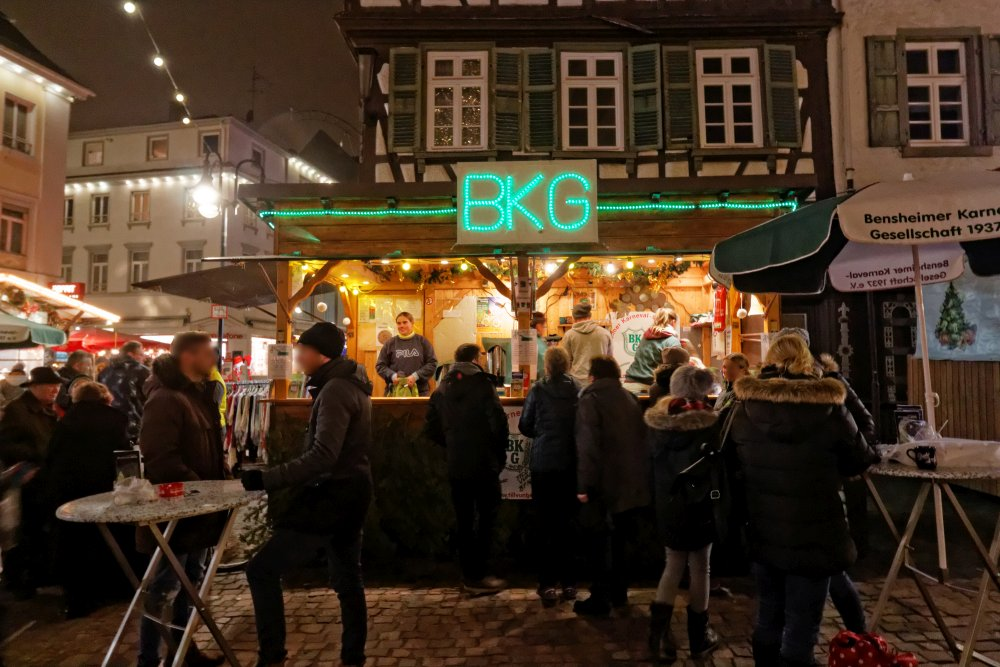 Bensheimer Weihnachtsmarkt 2019